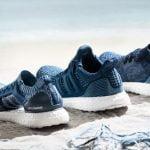 Giày Adidas trở lại với bộ sưu tập giày từ rác thải đại dương
