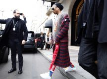 Celebrities seen leaving their hotel for to go to Chanel fashion show in Paris, France.  Pictured: Pharrell Williams Ref: SPL1457259  070317   Picture by: Splash News  Splash News and Pictures Los Angeles:310-821-2666 New York:212-619-2666 London:870-934-2666 photodesk@splashnews.com